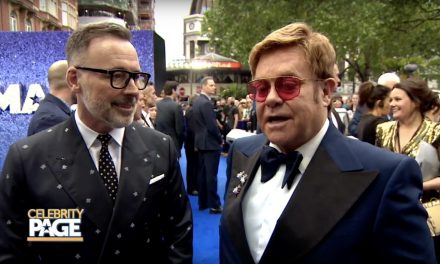 Elton John and Taron Egerton Talk Rocketman