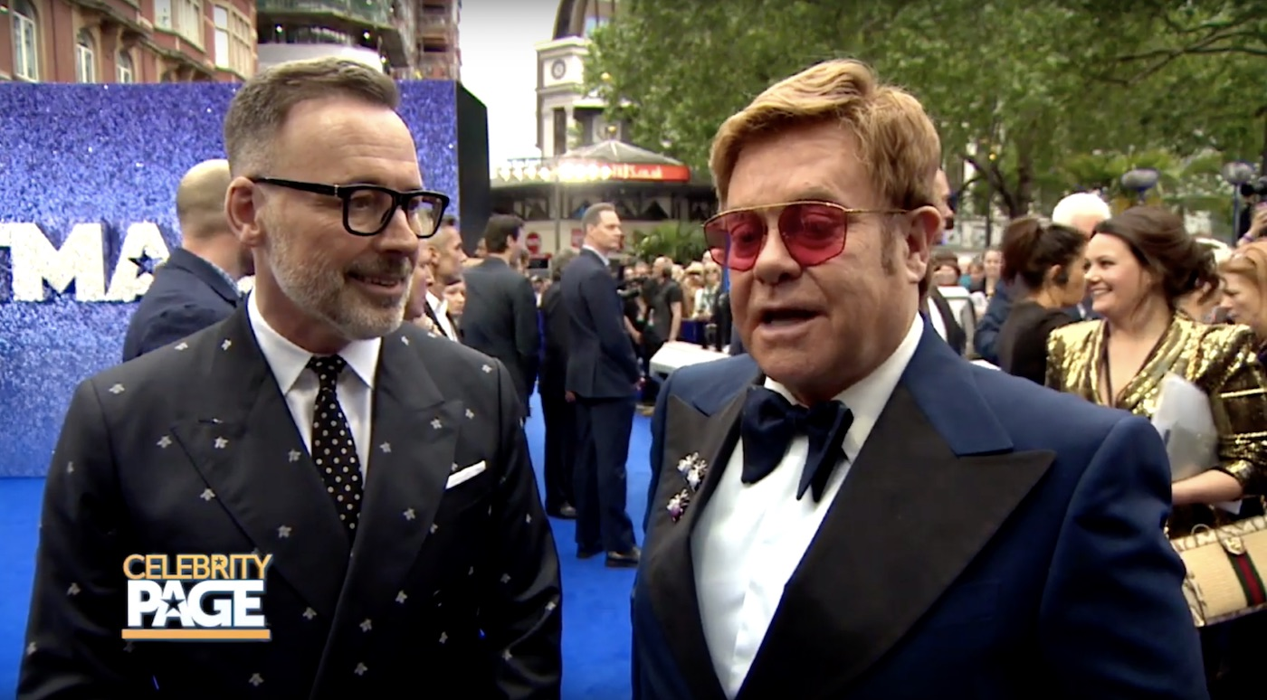 Elton John at Rocketman's Premiere