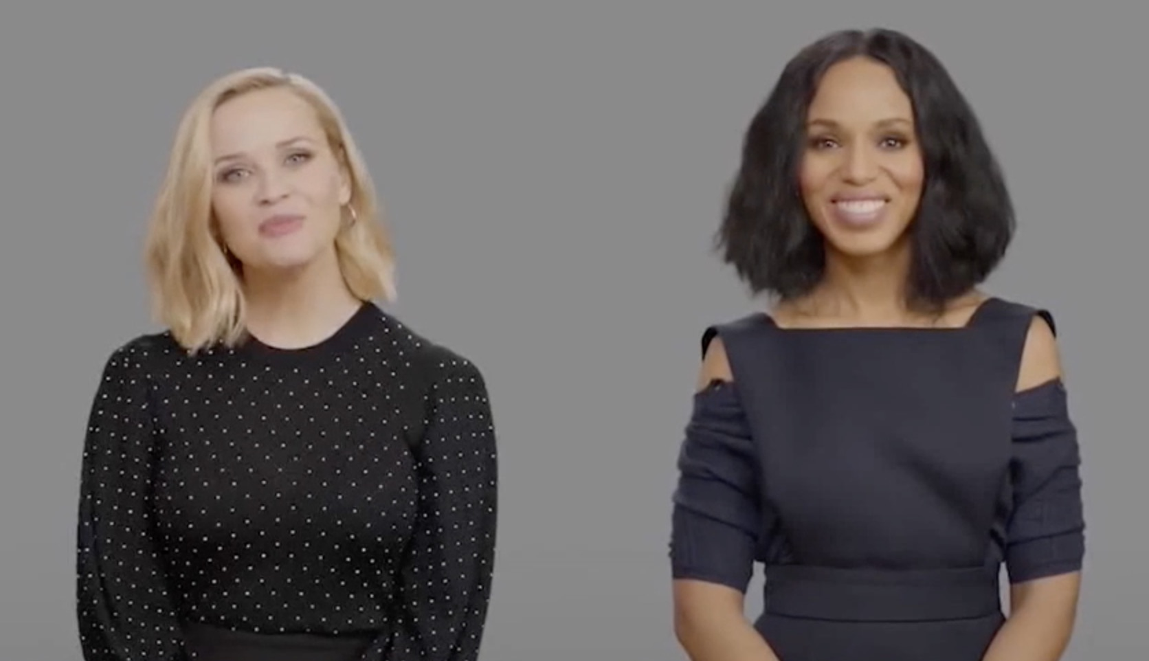 Reese Witherspoon and Kerry Washington Arrive at Hulu