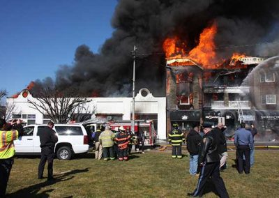 Commercial Building Fire in Long Branch, NJ Results in Total Loss