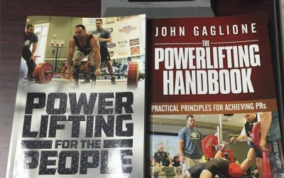 Coach Gaglione publishes Two New Powerlifting Books