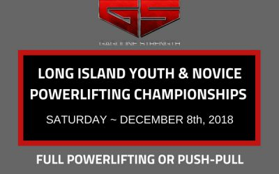 Long Island Youth and Novice Powerlifting Championships at Gaglione Strength